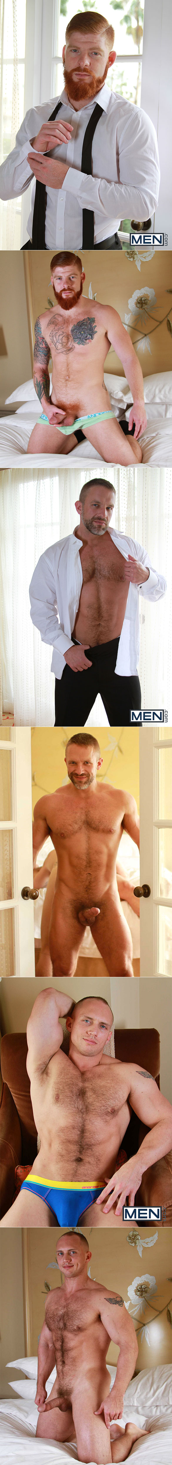 "Men.com: Bennett Anthony and Dirk Caber tag team John Magnum in ""Pretty Boy, Part 3"""