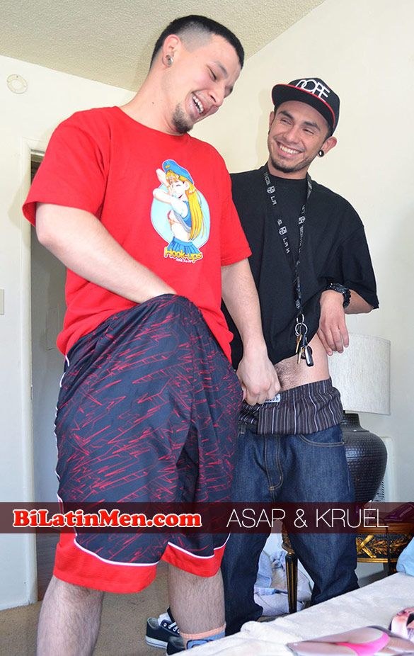 BiLatinMen: ASAP pounds Kruel