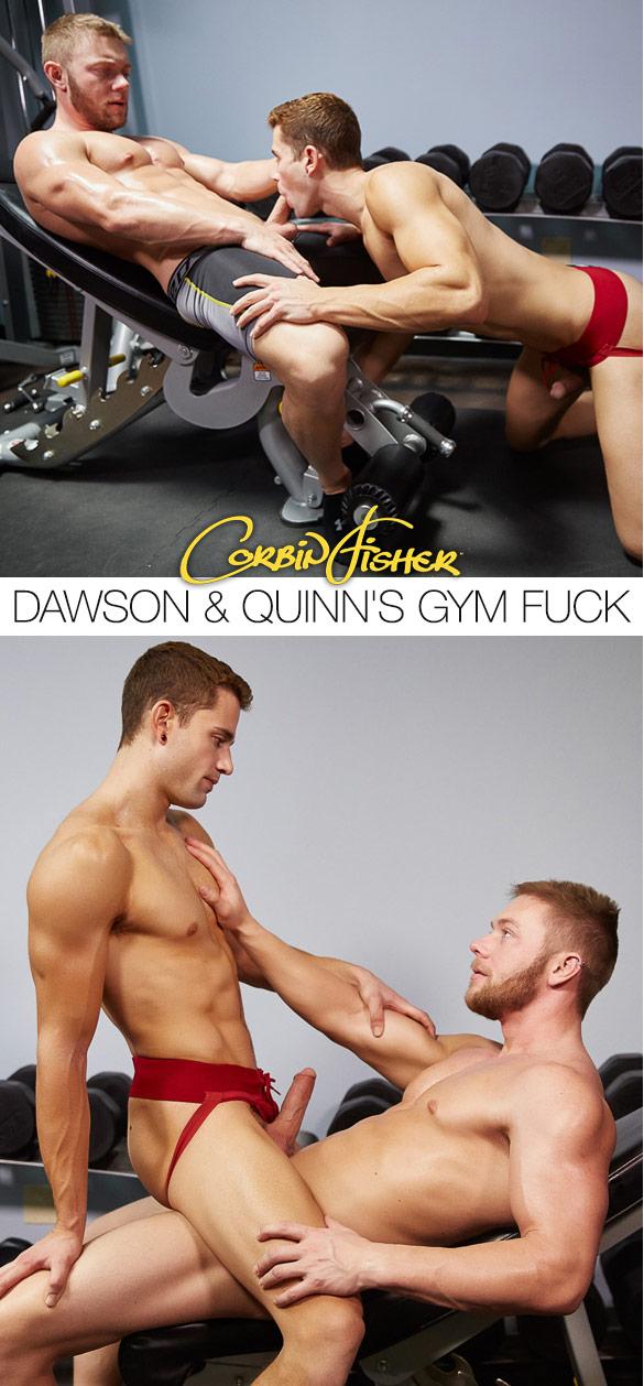 Corbin Fisher: Quinn rides Dawson bareback
