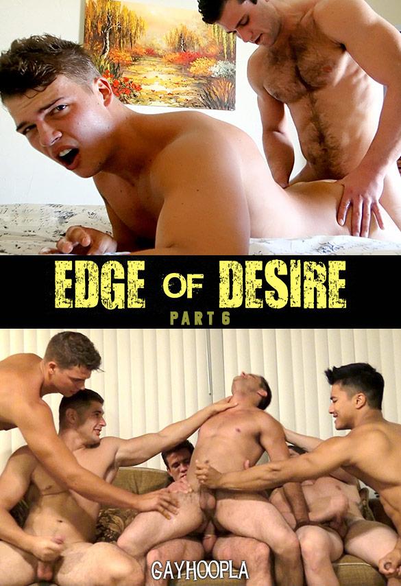 "GayHoopla: Cole Money fucks Brody James and Phillip Anadarko in ""Edge of Desire, Part 6"""