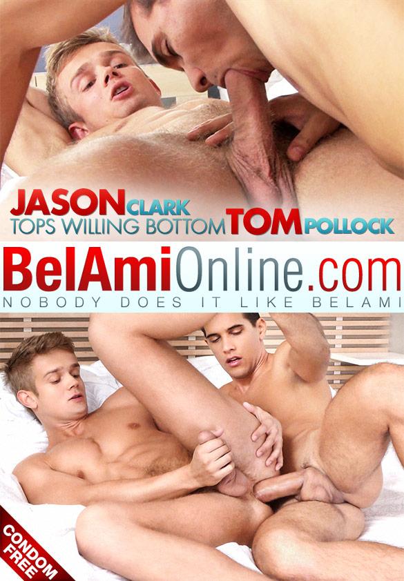 BelAmi: Jason Clark barebacks Tom Pollock
