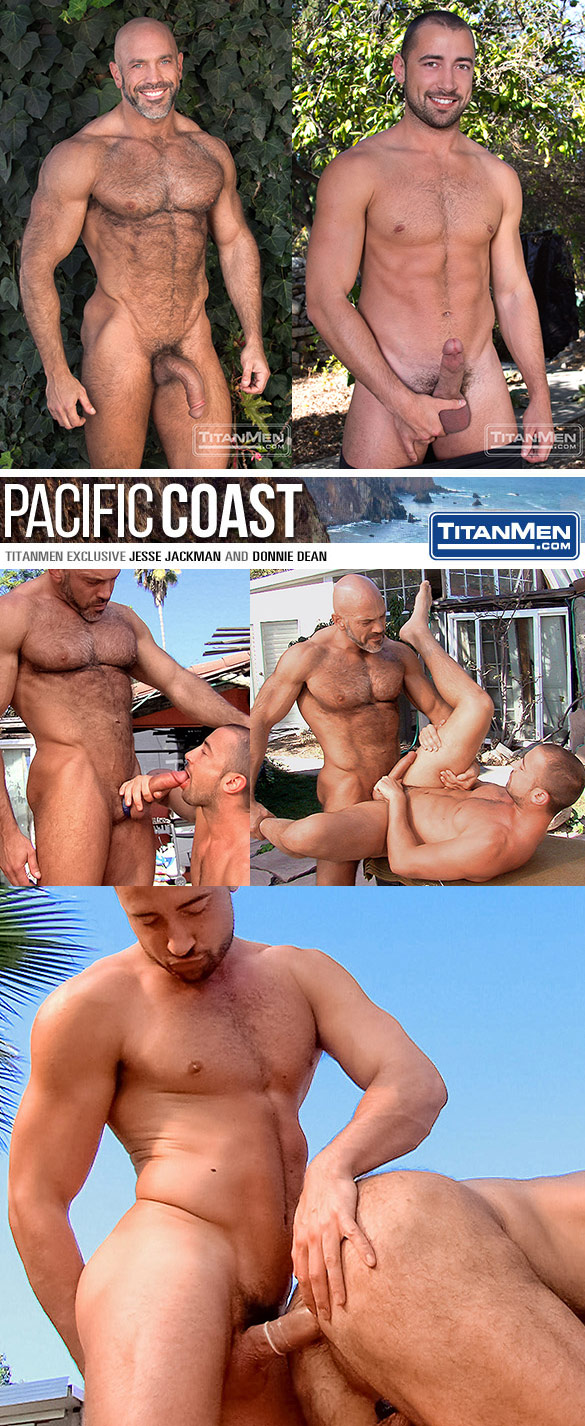 """TitanMen: Jesse Jackman and Donnie Dean bang each other in """"Pacific Coast"""""""