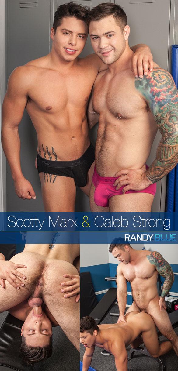 Randy Blue: Caleb Strong bangs Scotty Marx