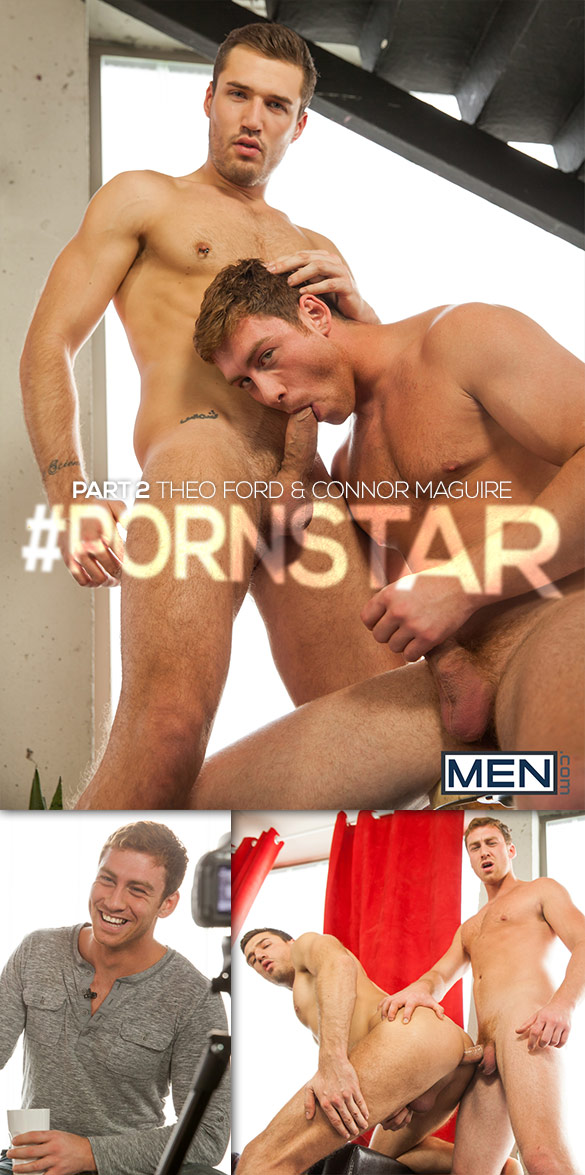 "Men.com: Connor Maguire fucks Theo Ford in ""#Pornstar, Part 2"""