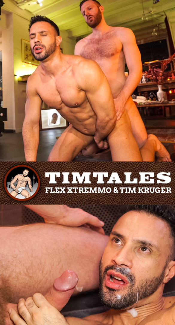 TimTales: Tim Kruger fucks Flex Xtremmo