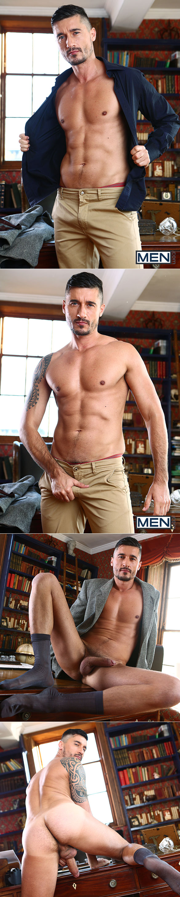 """Men.com: Theo Ford fucks Jay Roberts in """"Ivy League, Part 2"""""""