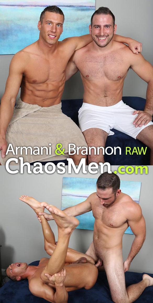 ChaosMen: Armani fucks Brannon raw
