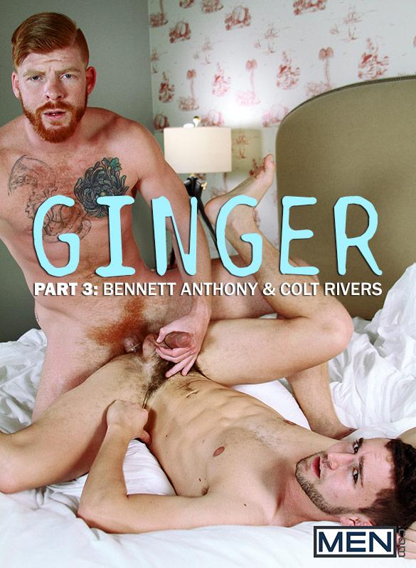 """Men.com: Bennett Anthony fucks Colt Rivers in """"Ginger, Part 3"""""""