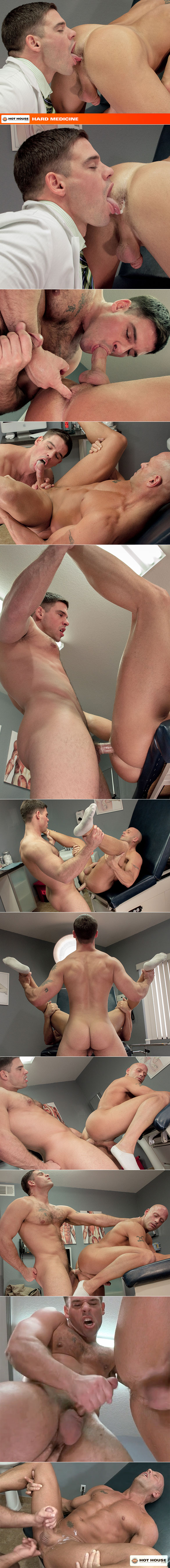 "HotHouse: Derek Atlas fucks Coby Mitchell in ""Hard Medicine"""