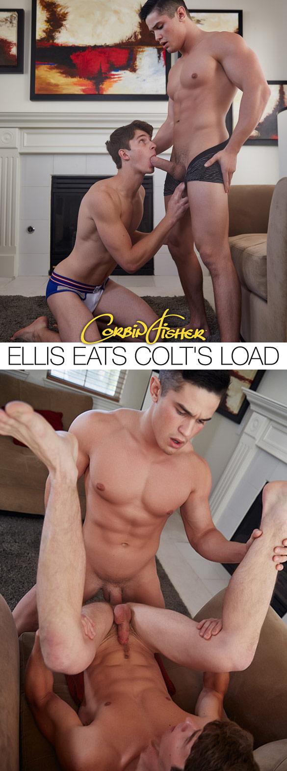 Corbin Fisher: Colt fucks Ellis raw