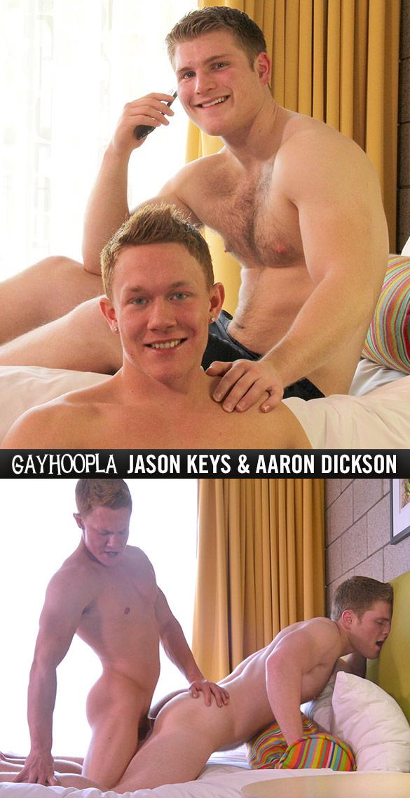 GayHoopla: Jason Keys and Aaron Dickson flip fuck