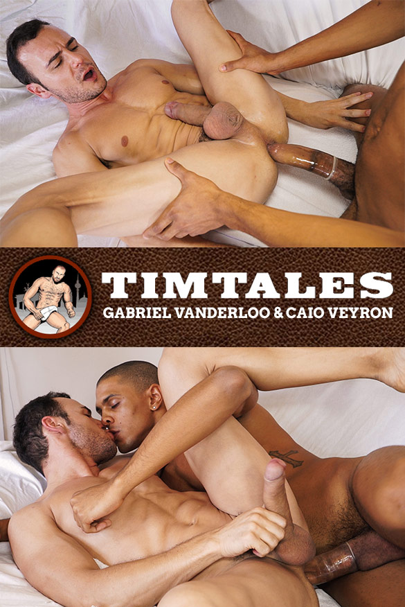 TimTales: Gabriel Vanderloo bottoms for big-dicked Caio Veyron