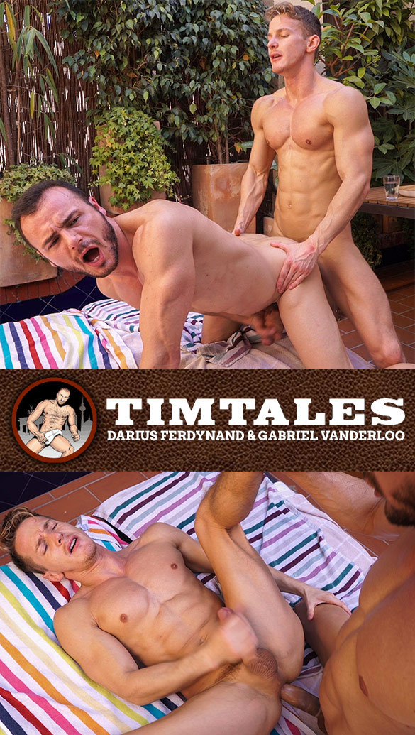 TimTales: Darius Ferdynand and Gabriel Vanderloo flip fuck