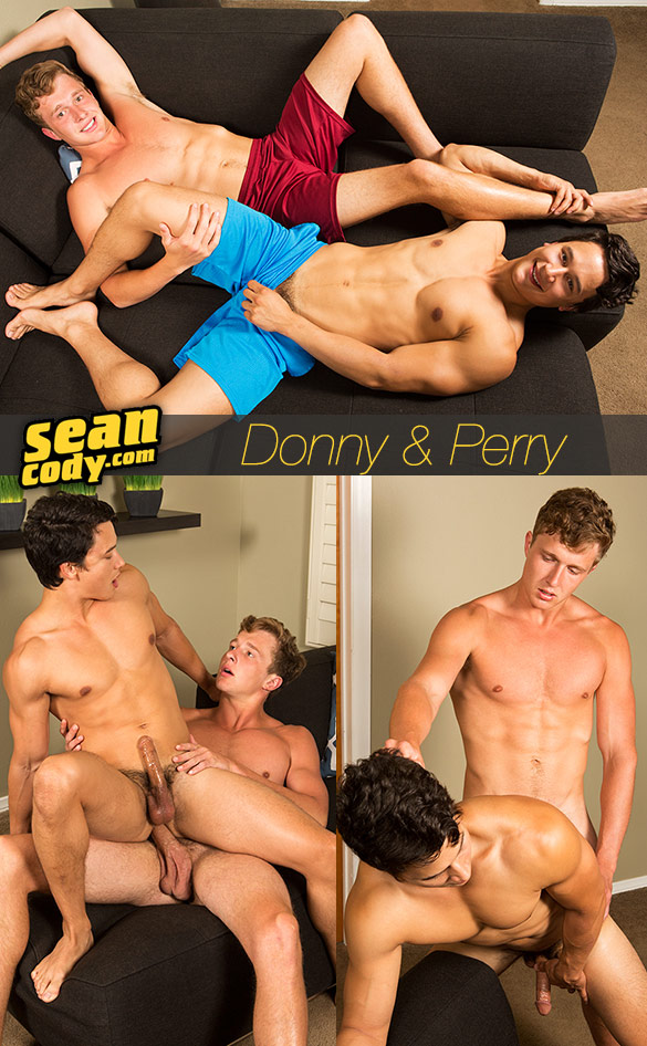 Sean Cody: Donny bangs Perry bareback