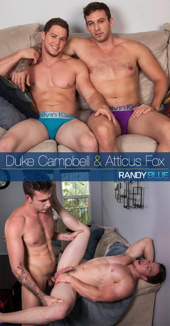 Randy Blue: Atticus Fox barebacks Duke Campbell's virgin ass