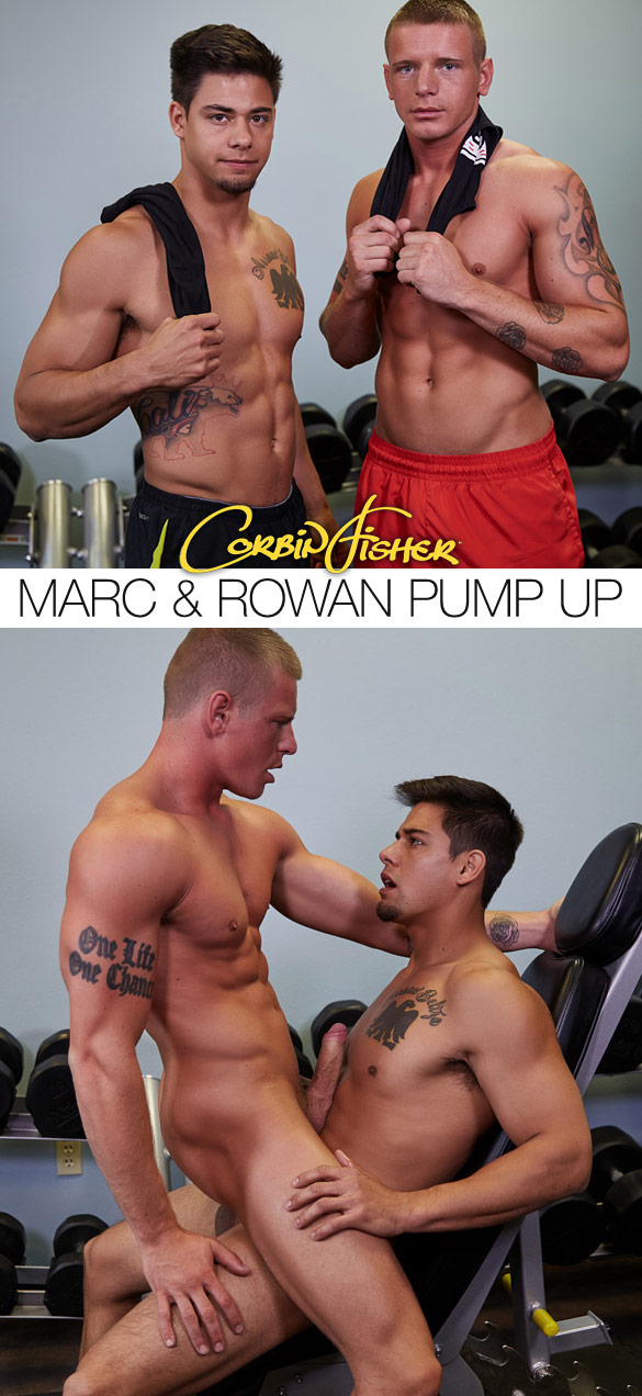Corbin Fisher: Marc fucks Rowan bareback