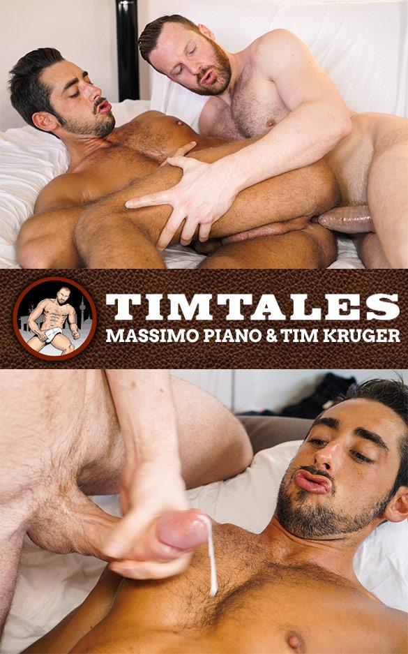 TimTales: Tim Kruger fucks Massimo Piano