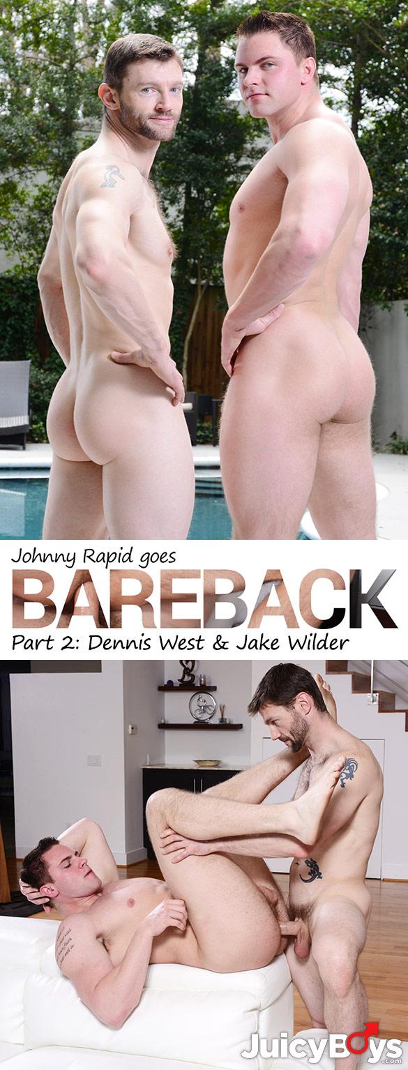 JuicyBoys: Dennis West barebacks Jake Wilder