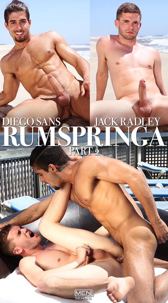 "Men.com: Jack Radley gets fucked by Diego Sans in ""Rumspringa, Part 2"""