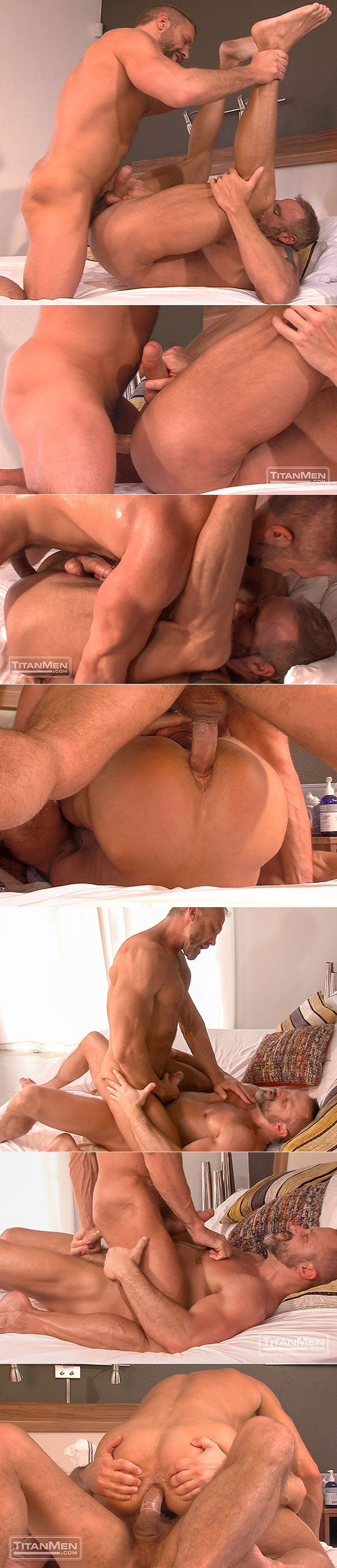 """TitanMen: Dirk Caber and Dallas Steele pound each other in """"Blue Collar Ballers"""""""
