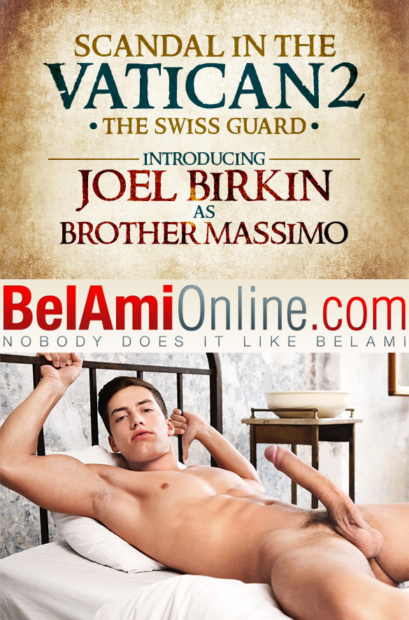 """BelAmi: Brother Massimo (Joel Birkin) rubs one out in """"Scandal in the Vatican 2 - Episode 1: Morning Devotions"""""""