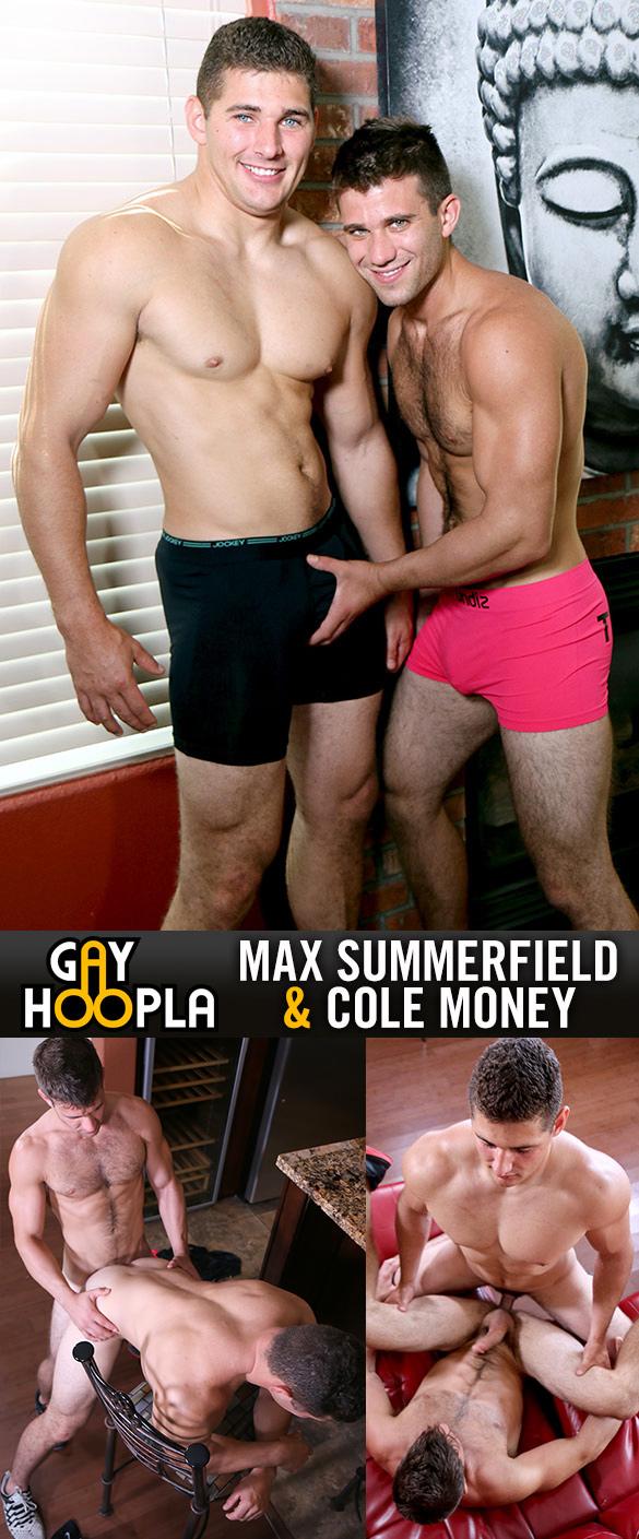 GayHoopla: Max Summerfield and Cole Money flip fuck