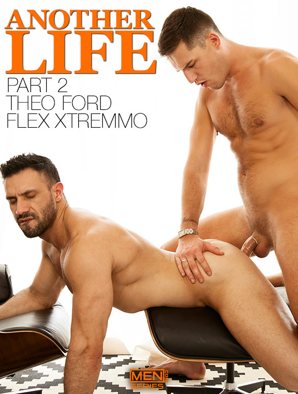 """Men.com: Flex Xtremmo and Theo Ford pound each other in """"Another Life, Part 2"""""""