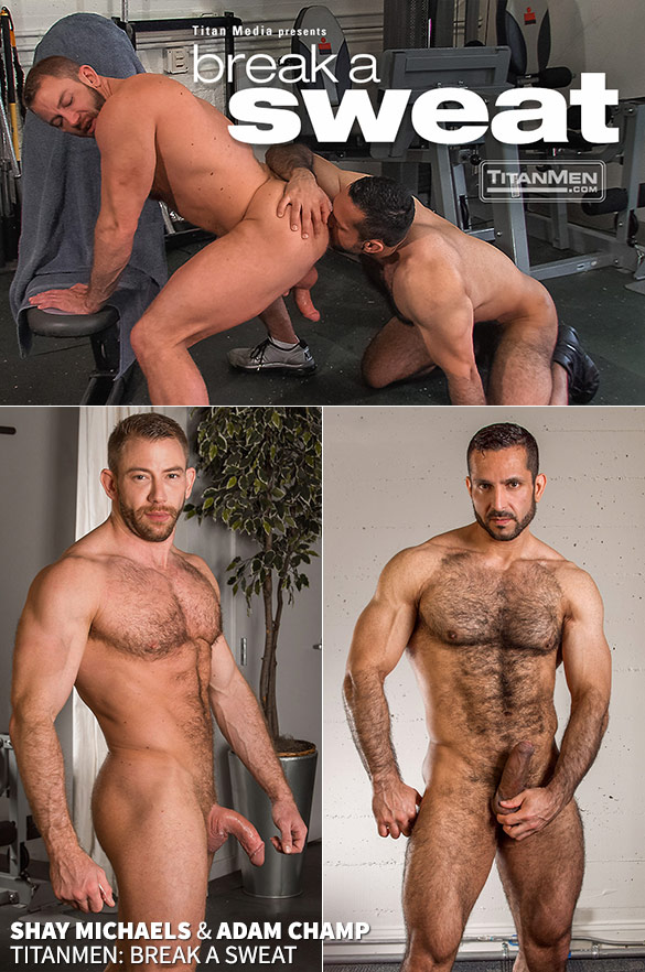 "TitanMen: Adam Champ pounds Shay Michaels in ""Break a Sweat"""
