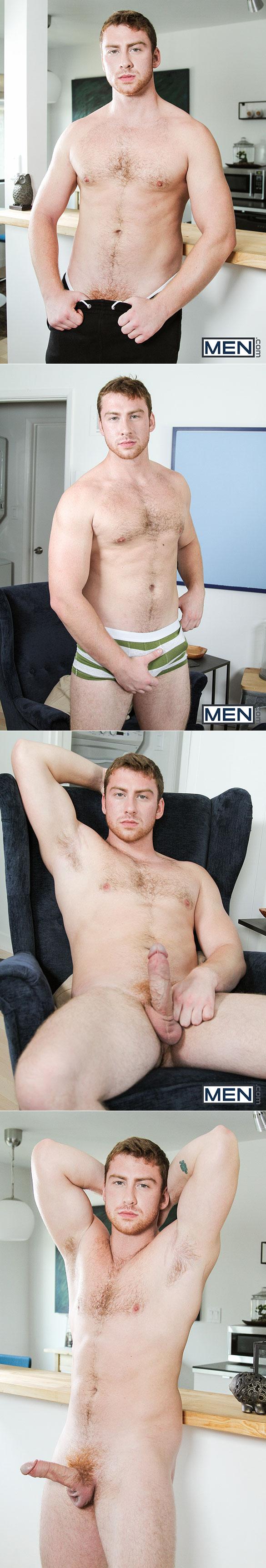 "Men.com: Dennis West bottoms for Connor Maguire in ""Ass Bandit, Part 4"""