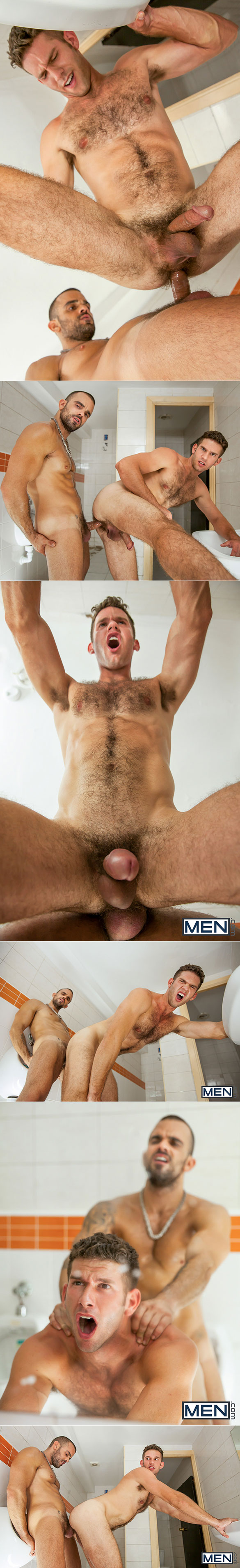 "Men.com: Damien Crosse pounds Jimmy Fanz in ""Thirst, Part 1"""