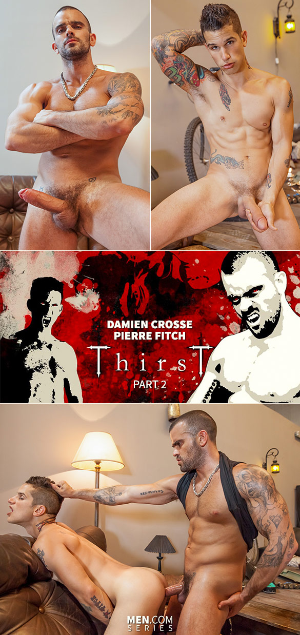 "Men.com: Damien Crosse fucks Pierre Fitch in ""Thirst, Part 2"""