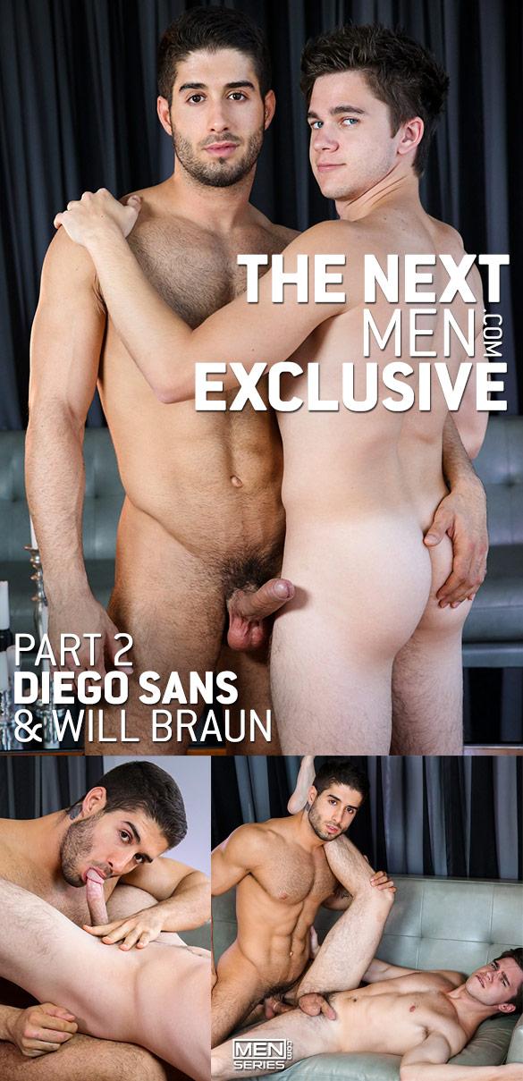 """Men.com: Diego Sans fucks Will Braun in """"The Next Men Exclusive, Part 2"""""""