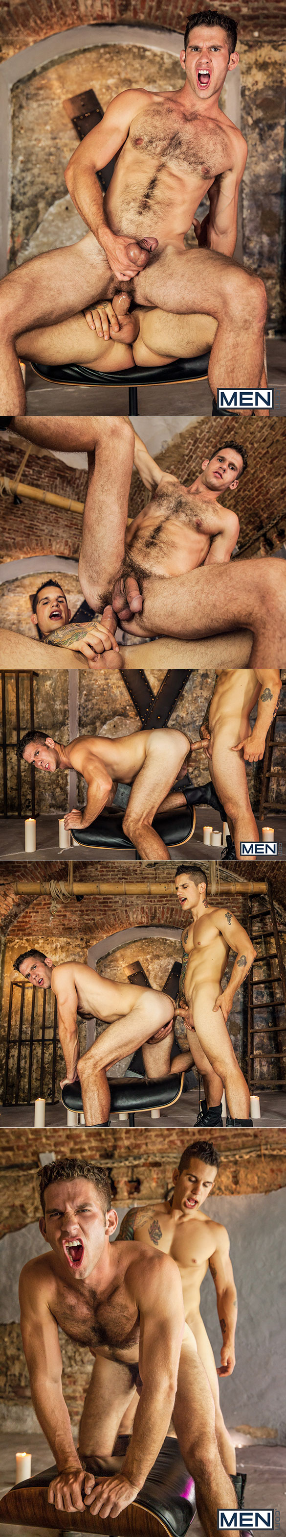 """Men.com: Jimmy Fanz and Pierre Fitch flip fuck in """"Thrist, Part 3"""""""