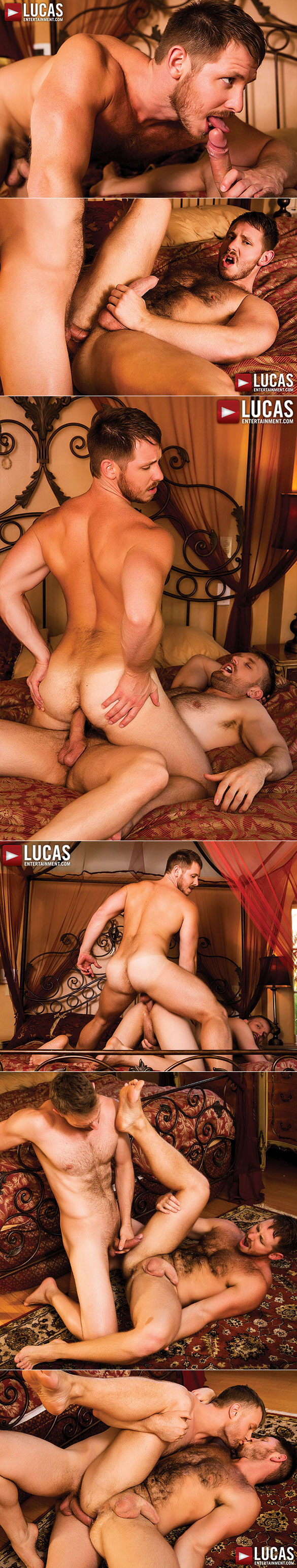 Lucas Entertainment: Spencer Whitman and Evan Lance fuck each other raw