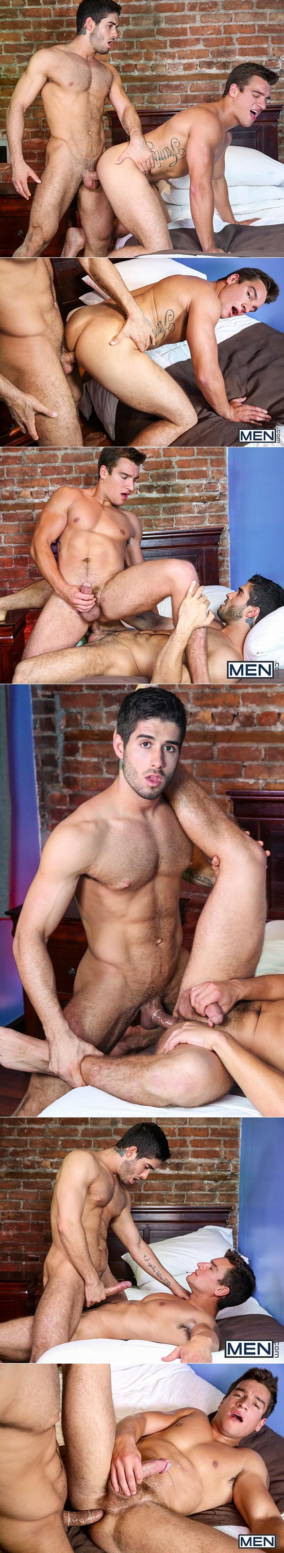 """Men.com: Jordan Boss bottoms for Diego Sans in """"New York City Whore, Part 1"""""""