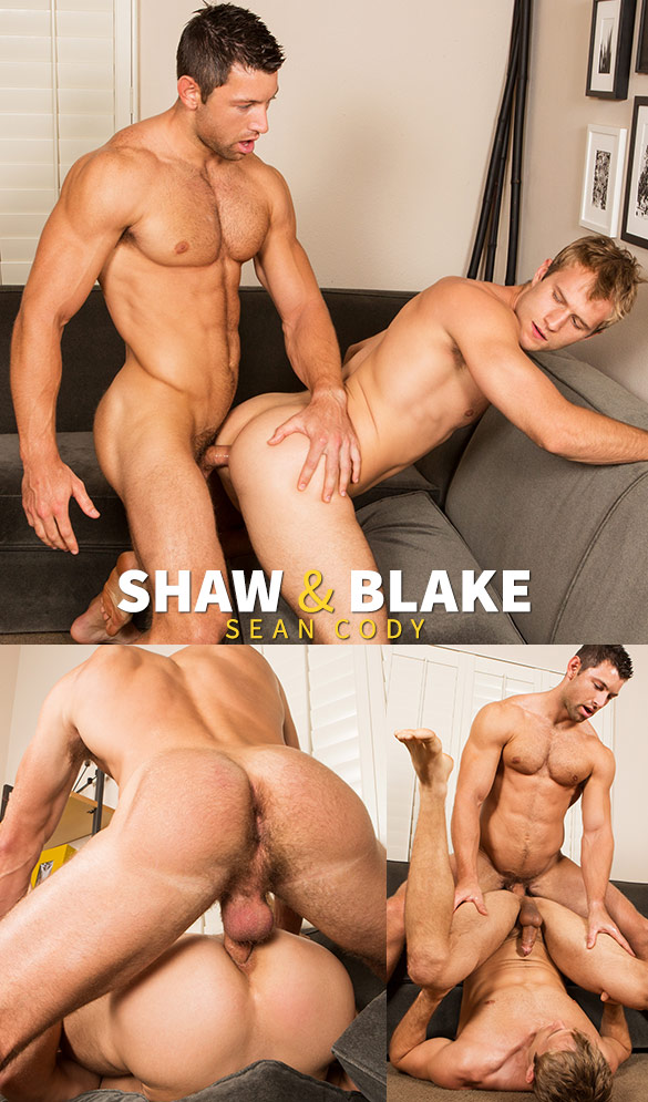 Sean Cody: Shaw returns to fuck Blake raw