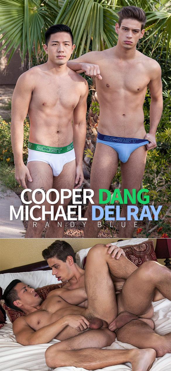 Randy Blue: Cooper Dang rides Michael DelRay bareback