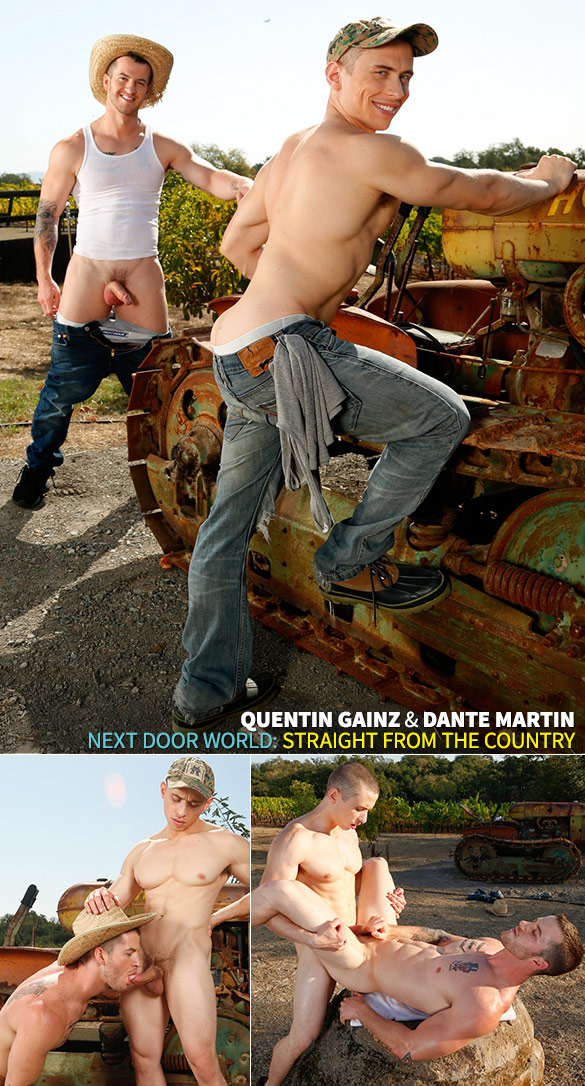"Next Door Studios: Dante Martin bangs Quentin Gainz in ""Straight from the Country"""