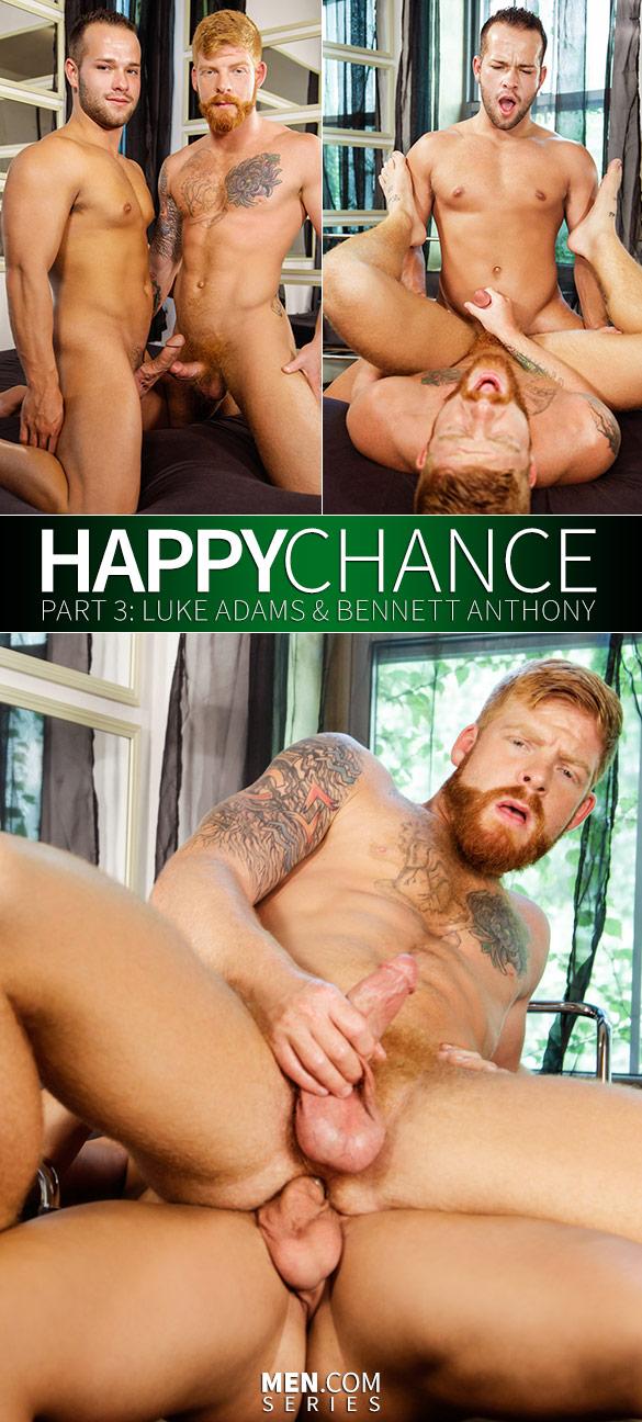 "Men.com: Luke Adams fucks Bennett Anthony in ""Happy Chance, Part 3"""