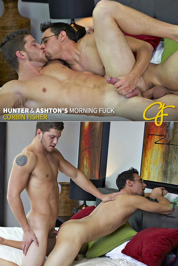 Corbin Fisher: Hunter and Ashton flip fuck bareback