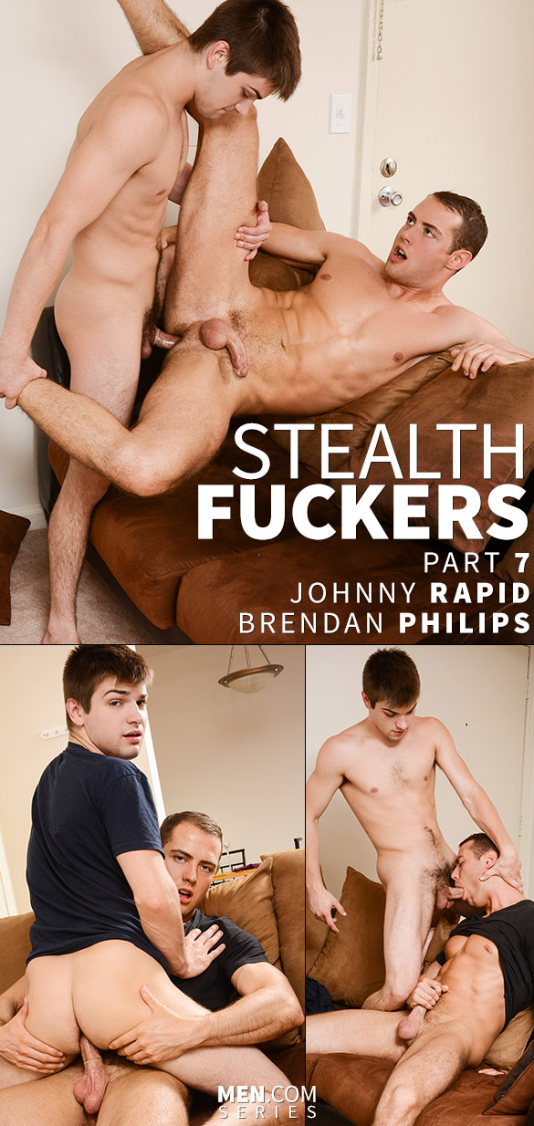 "Men.com: Johnny Rapid fucks Brendan Phillips in ""Stealth Fuckers, Part 7"""