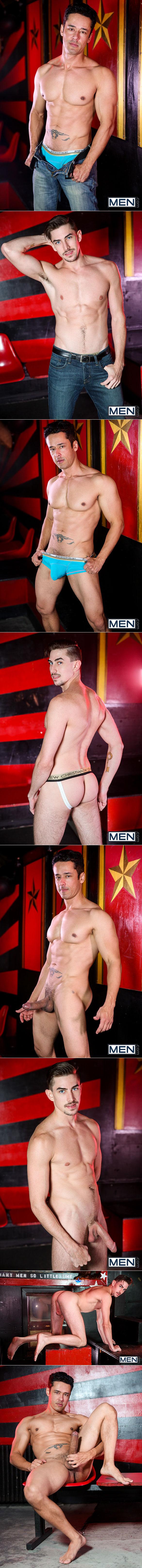 "Men.com: Rafael Alencar bangs Jack Hunter in ""Straight A Student, Part 2"""