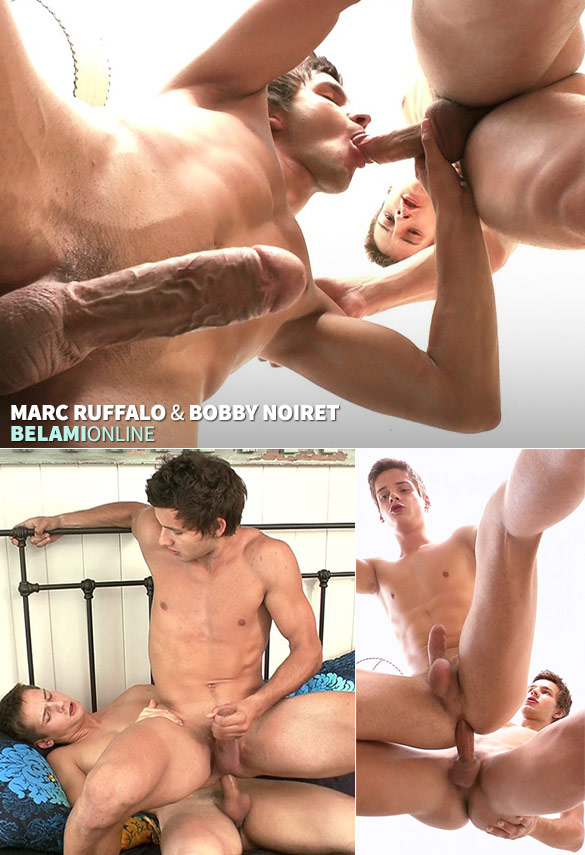 BelAmi: Marc Ruffalo and Bobby Noiret flip fuck raw