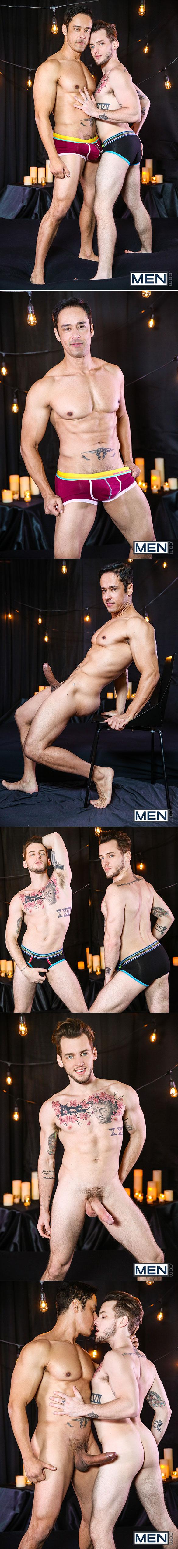 "Men.com: Colton Grey takes Rafael Alencar's big dick in ""Dirty Valentine, Part 4"""