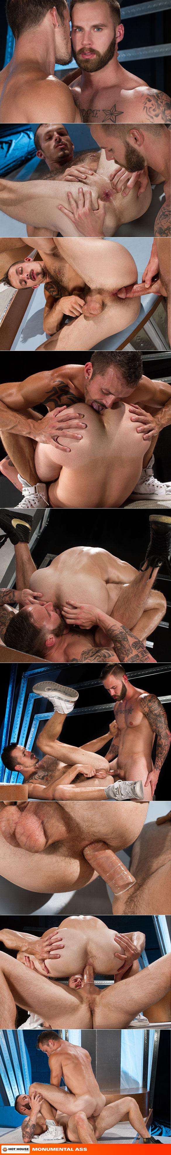 "NakedSword: Hot House Video's ""Monumental Ass"""
