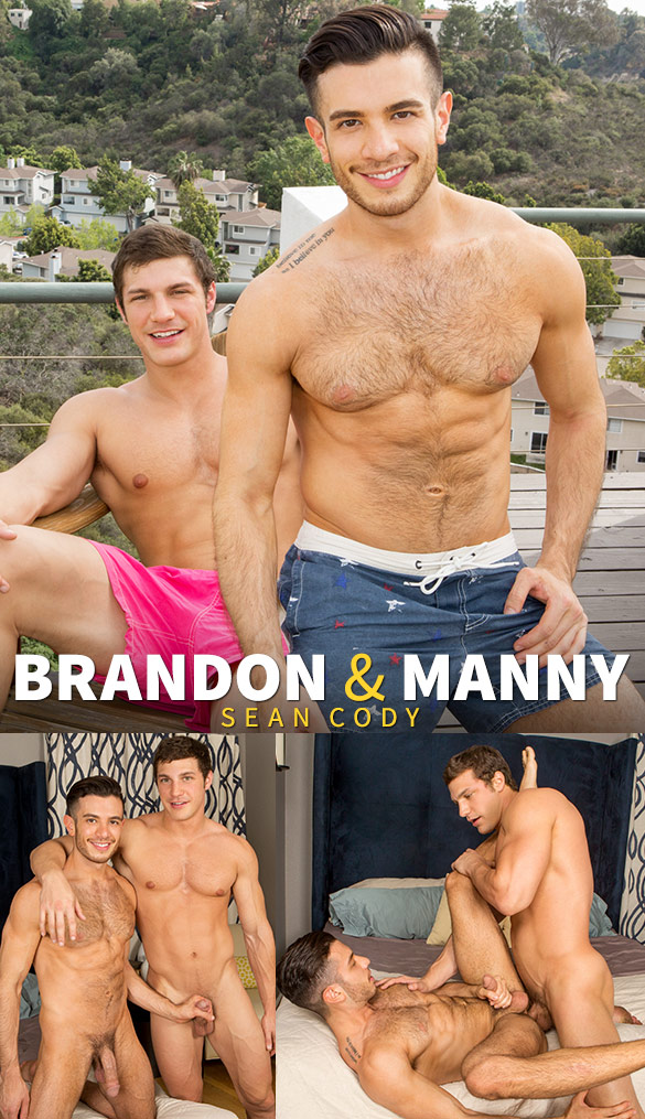 Sean Cody: Brandon pounds Manny raw