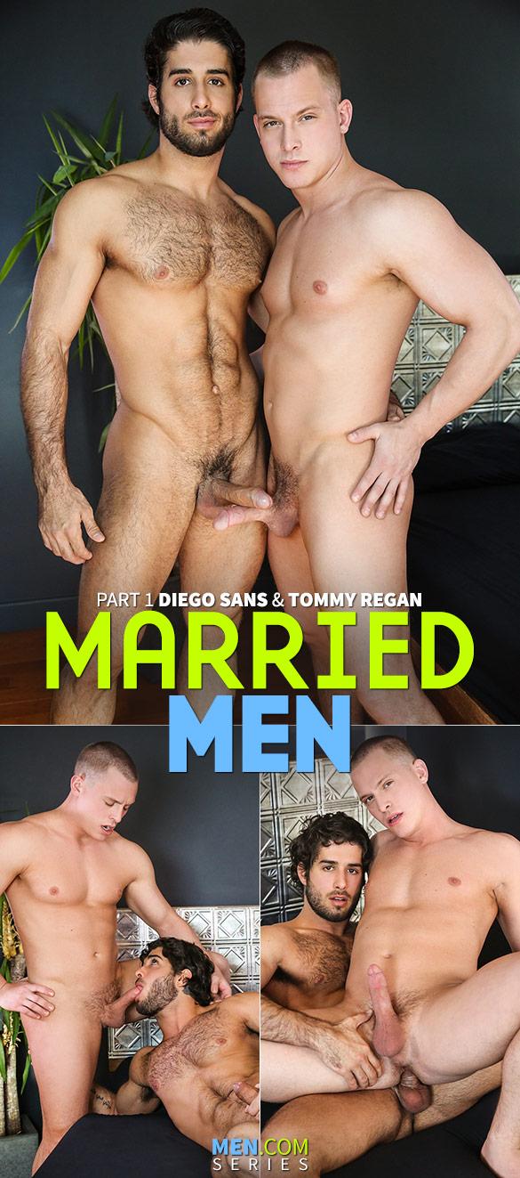 """Men.com: Diego Sans bangs Tommy Regan in """"Married Men, Part 1"""""""
