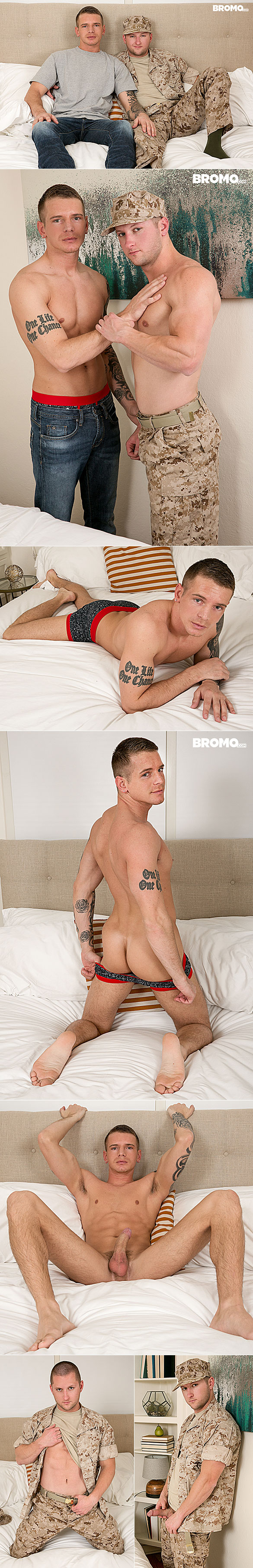 "Bromo: Benjamin Swift fucks Gunner Canon in ""Breed My Boyfriend, Part 1"""