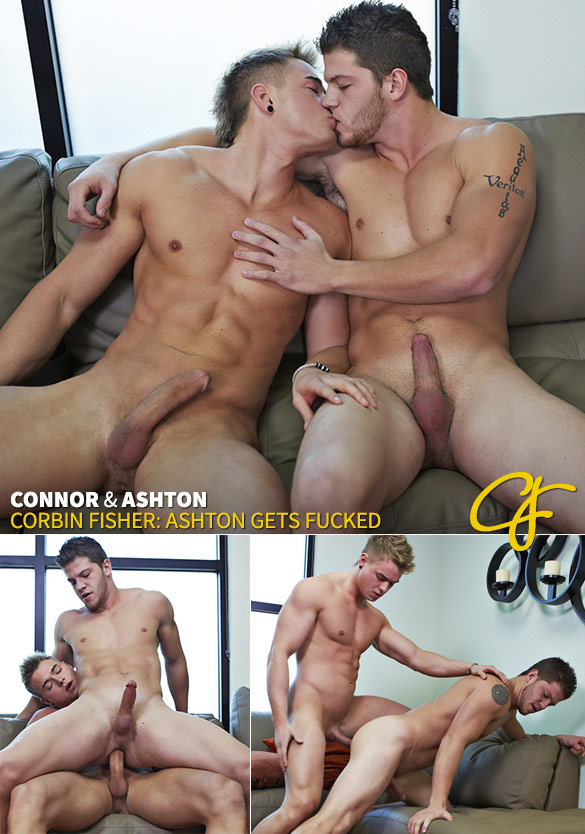 Corbin Fisher: Connor barebacks Ashton