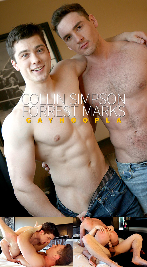 GayHoopla: Newcomer Collin Simpson pounds Forrest Marks